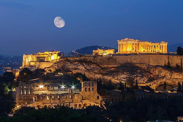 <p>Athens: Courtesy of Shutterstock</p>