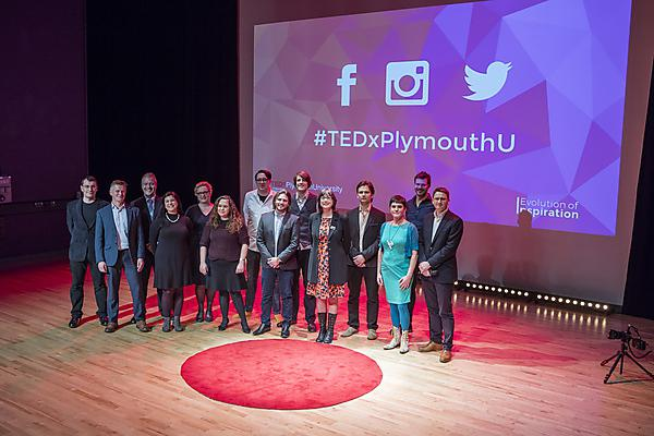 <p>TEDxPlymouthUniversity speakers</p>