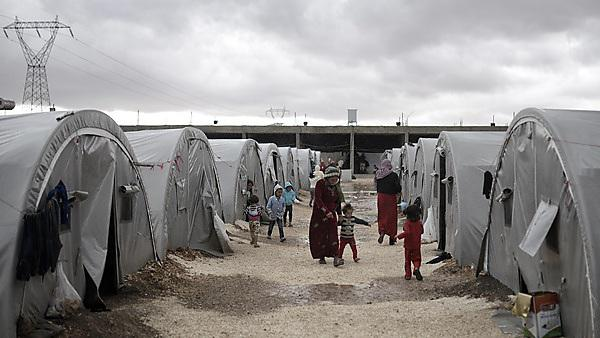 <p>Refugee camp</p>