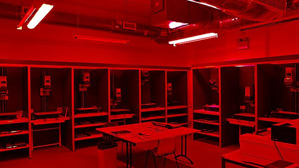 <p>Documentary photography - red room</p>