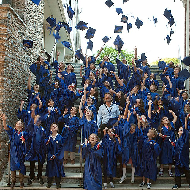 <p>Children's University graduation</p>