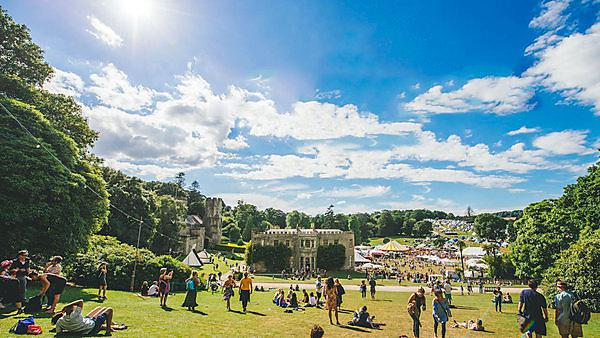 <p>Port Eliot festival</p>