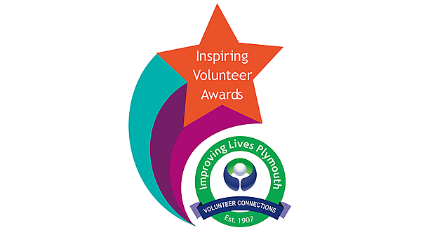 <p>Inspiring Volunteer Awards logo - Improving Lives Plymouth</p>
