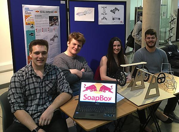Engineering students to take part in Red Bull Soapbox Race