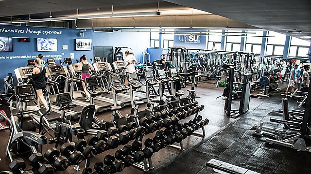 <p>Nancy Astor Sports Centre gym. Updated image from UPSU Marketing - May 2017</p>