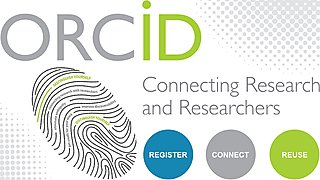 ORCiD is an internationally recognised unique identifier connecting research with researchers, ensuring correct attribution.