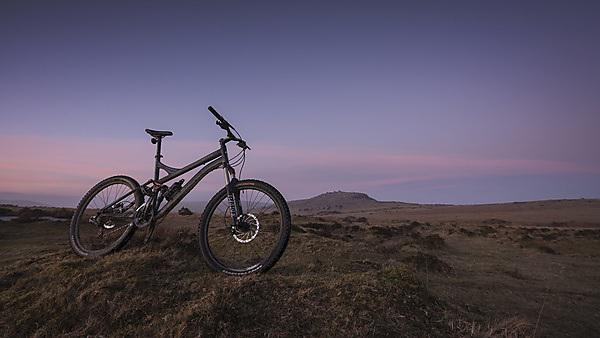 <p>Mountain bike on Bodmin Moor</p>