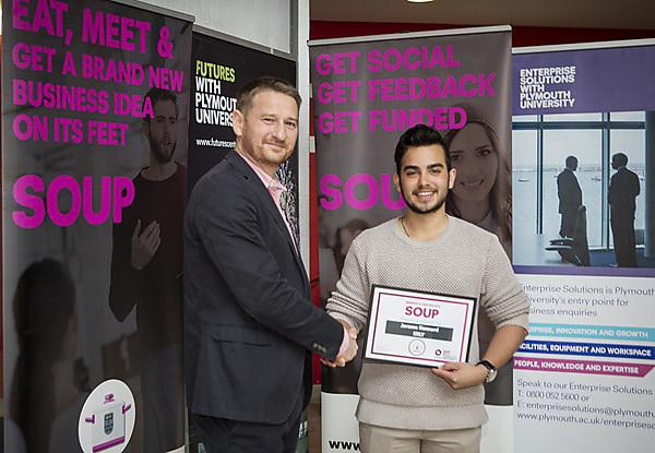 Prize for university entrepreneur connecting students with local businesses