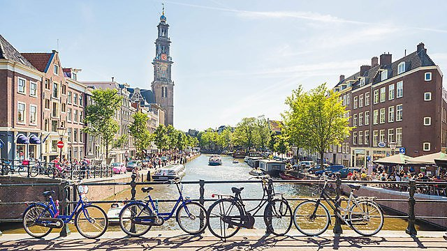 <p>Getty image of Amsterdam</p>