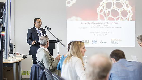 """<p>Organisation of an international symposium at the University of Plymouth: """"Current Trends in Nanotoxicology: Implications for environmental and human health""""<br></p>"""