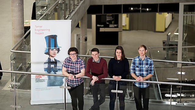 <p>Tamar Engineering Project students  </p>