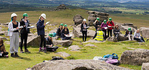 From earthquakes to engineering – students take part in fourth Girls into Geoscience