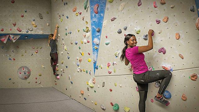 <p>Confirmation climbing</p>