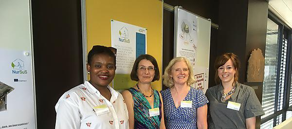 <p><b>NurSus TOOLKIT European launch in Esslingen, Germany. Pictured are: C</b><strong></strong><strong></strong><strong><i></i>onfidence Mutandwa,<i></i></strong><strong> adult nursing student at