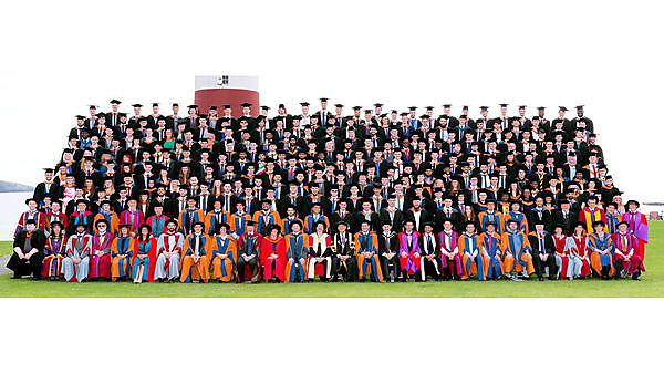 <p>School of Computing and Mathematics Graduation 2016.</p>
