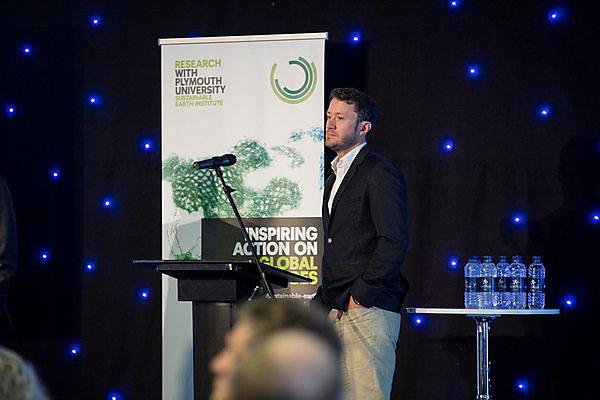 <p>Dr Tim Daley, Deputy Director of the Sustainable Earth Institute, Plymouth University<br></p>