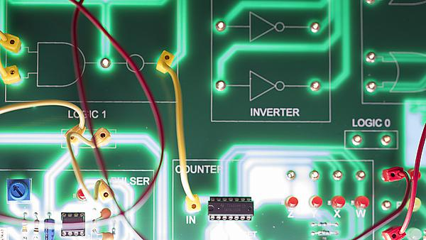 <p>circuit board</p>