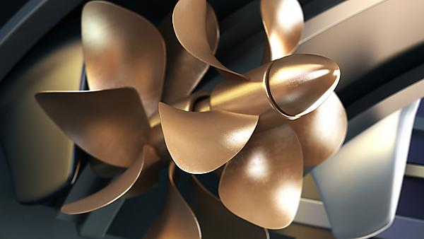 <p>  3D propeller of a yacht with DOF effect. Image courtesy of Getty Images. <br></p>