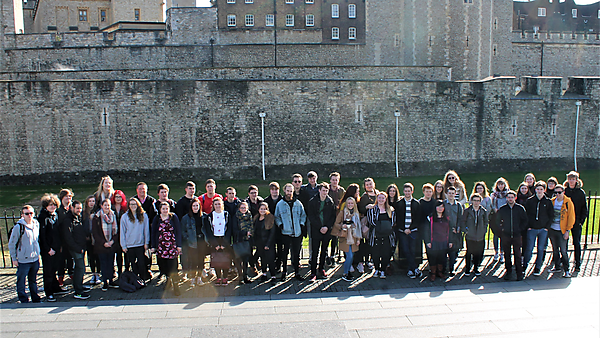 <p>BA (Hons) History first year field trip to London