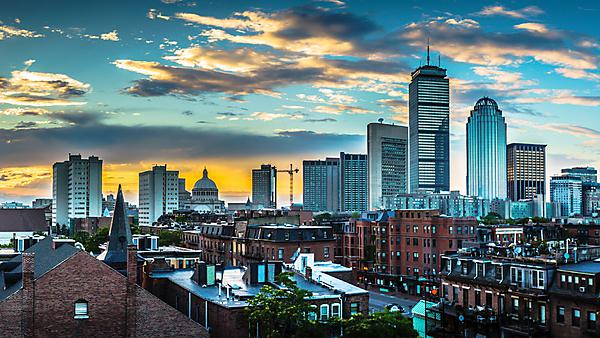 <p>Boston skyline</p>