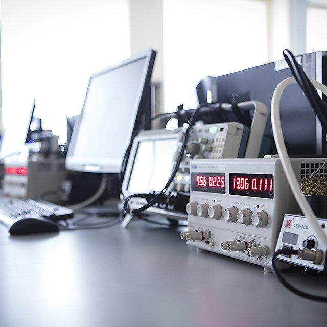 <p>Electronics facilities</p>