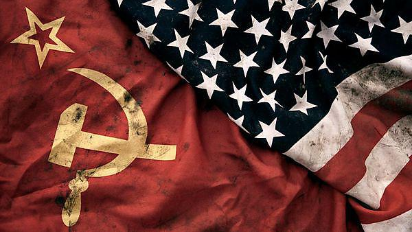 <p>Grungy Flags of Soviet Union and USA, credit: Klubovy, courtesy of Getty Images<br></p>