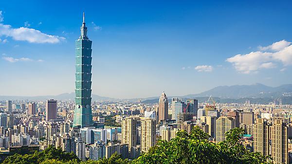 <p>Taipei Skyline, Taiwan</p>
