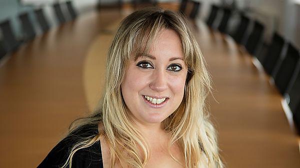 <p>MA Human Resource management graduate Cheryl Meek</p>