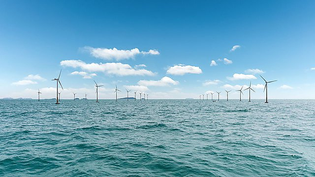 <p>Offshore windfarm - image courtesy of Getty Images</p>