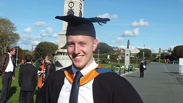 Nathan Eastwood – BSc (Hons) Mathematics and Statistics graduate