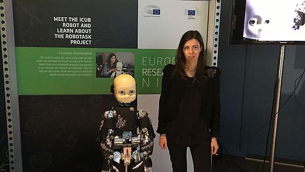 Francesca Stramandinoli, PhD in Engineering and Robotics