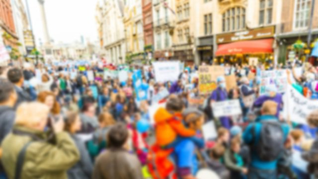<p>  </p><div>Blurred background of thousands people marching in London</div>  <br><p></p>