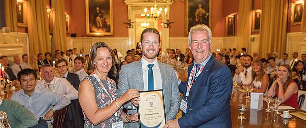 National prize win for dental PhD student
