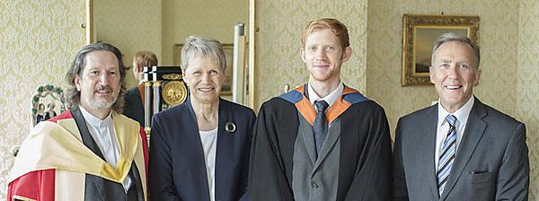 High profile graduation for TEP scholar