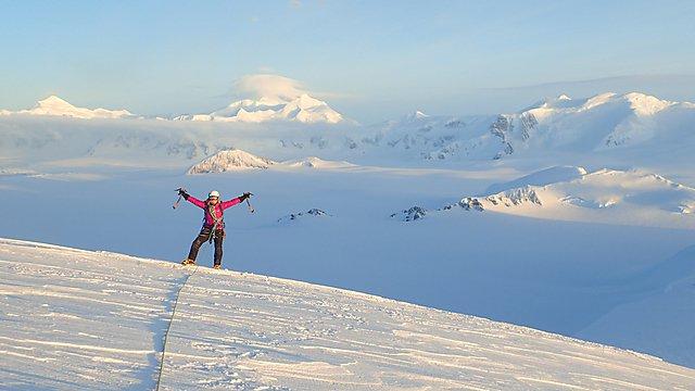 <p>Winter climbing</p>