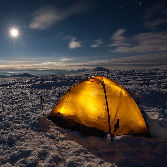 <p></p><div>Camping during winter</div><p></p>