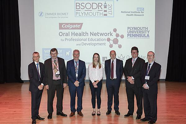 <p>(L-R): Professor Stephen Porter, Professor Angus Walls, Professor