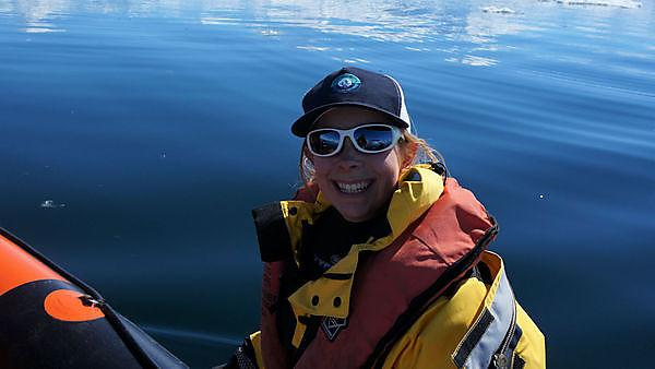 Searching for answers on the other side of the world: ocean science graduate: Zoe Waring dives for data in the depths of Antarctica