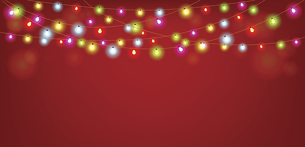 <p>Christmas lights</p>