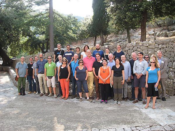 Workshop participants at Santuari de Lluc (Mallorca)