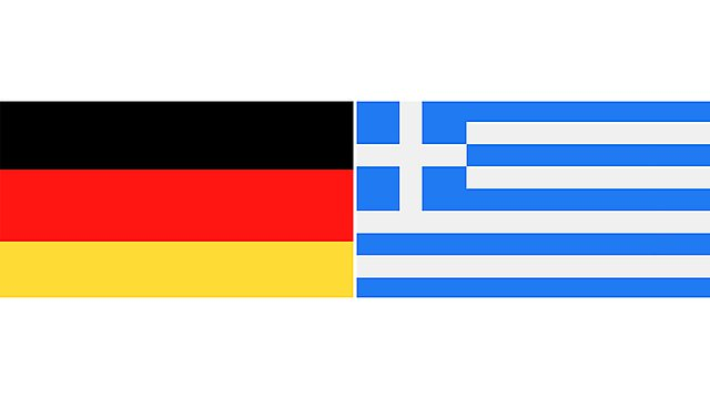 <p>germany and greece flags 2</p>