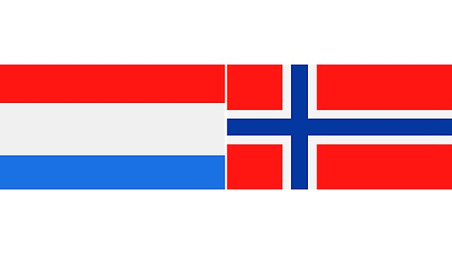 <p>netherlands and norway flags 2</p>
