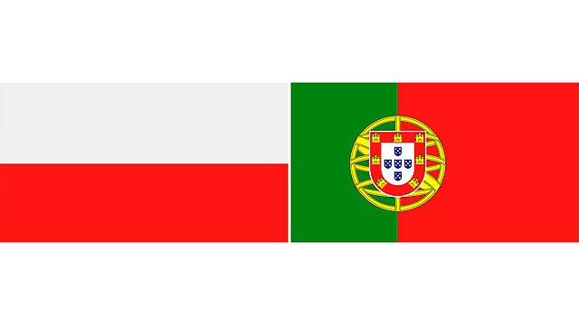 <p>poland and portugal flags 2</p>