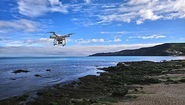 <p>Drone flight over Slapton Sands for blueCOAST Project</p>