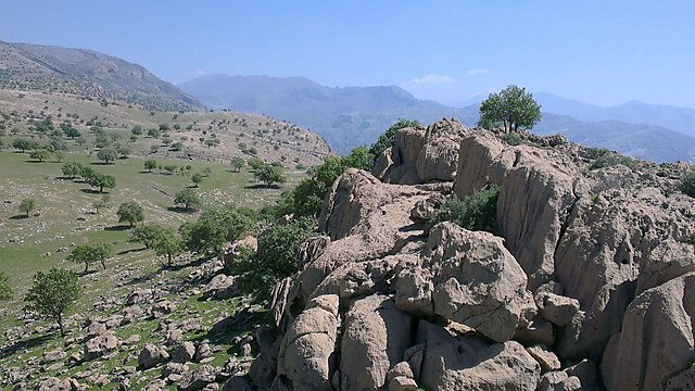 <p>The Zagros Mountains. Credit: Cherom (Own work) via Wikimedia Commons<br></p>