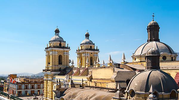 <p>San Francisco monastery, central Lima, Peru</p>
