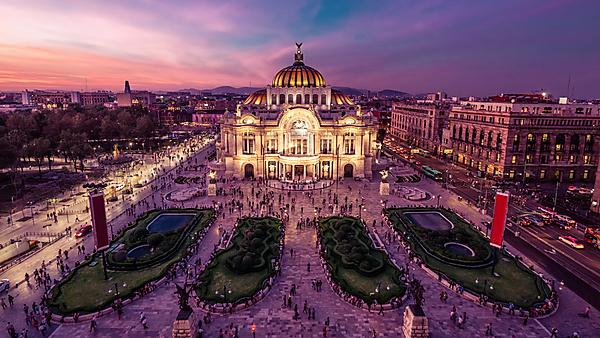 <p>Mexico City Downtown at Twilight</p>