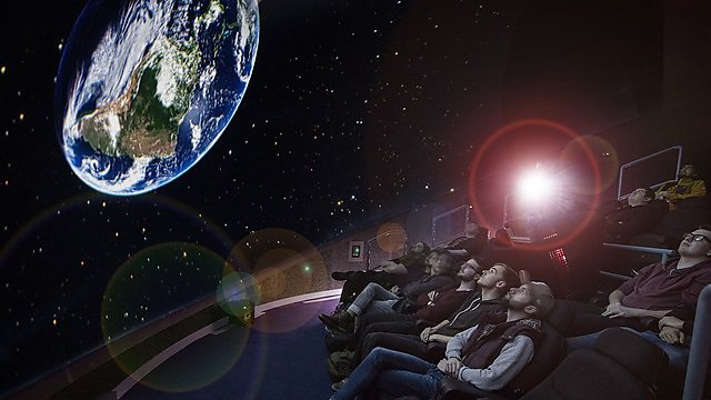 <p>Immersive Vision Theatre -&nbsp;&nbsp;an astronomy presentation made to the students as part of a course by Ben King