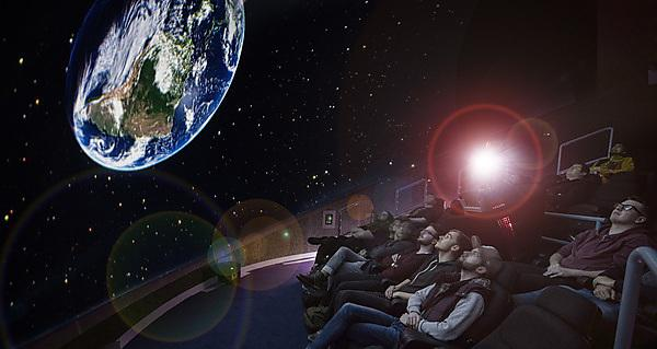 <p>Immersive Vision Theatre -  an astronomy presentation made to the students as part of a course by Ben King