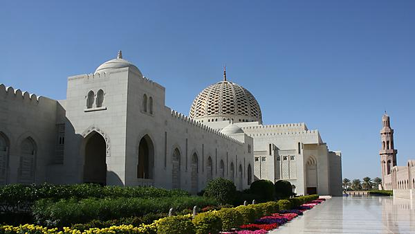 <p>Sultan Qaboos Grand Mosque, Muscat, Oman<br></p>